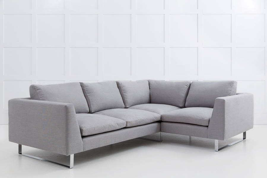 jasper modern corner sofa with return arm