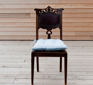 Isabella Blue And Ledbury Blue Grey Chair Pad - new in home