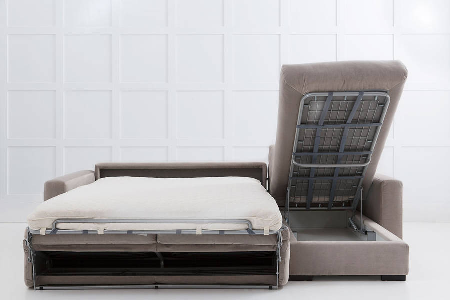 homepage > LOVE YOUR HOME > HENRY CHAISE CORNER SOFA BED WITH STORAGE