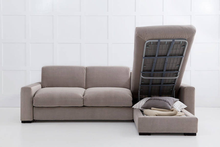 Homepage gt love your home gt henry chaise corner sofa bed with storage