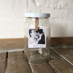 Personalised Photo And Message In A Jar - decorative accessories