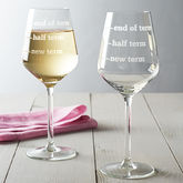 Teachers Wine Glass - gifts