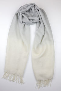 The Alpaca Co. Dip Dye Scarves - hats, scarves & gloves