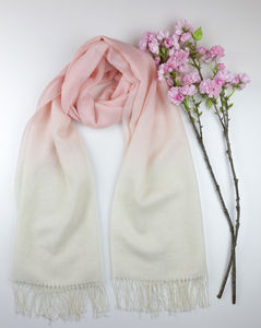 The Alpaca Co. Dip Dye Scarves - scarves