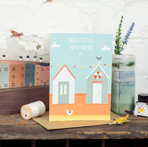 'Beautiful New Home' Card