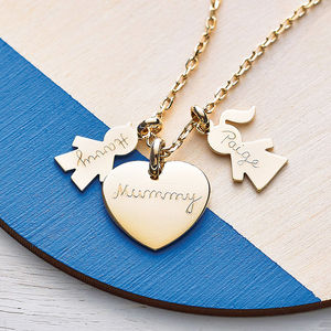 Personalised Family Charm Necklace - best gifts under £50