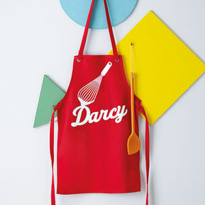 Personalised Child's Apron - cooking & food preparation