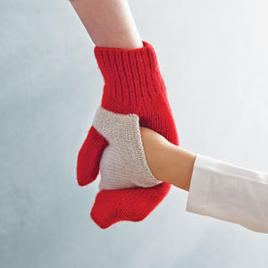 Pair Of Hand In Hand Gloves - gifts for mothers