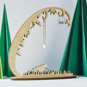 Woodland Jewellery Stand - gifts for her