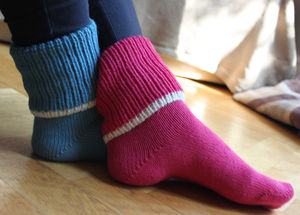 Luxury Baby Alpaca Bed Socks - lingerie & nightwear