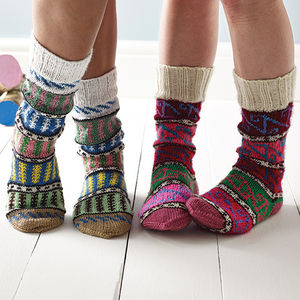 Turkish Socks - keeping cosy