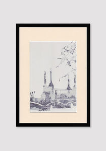 Battersea Toile Print - posters & prints