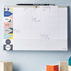 Weekly Planner Pad : Pastel - stocking fillers under £15