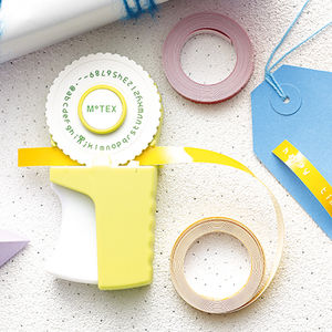 Retro Embossing Label Maker - stickers
