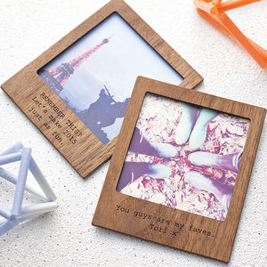 Personalised Polaroid Magnetic Picture Frame - shop by occasion