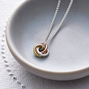 Eternity Pendant Necklace
