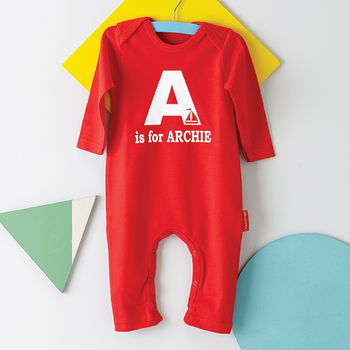 Personalised Alphabet Romper