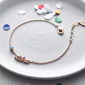 Rose Gold Zodiac Bracelet - jewellery for women