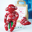 Fairisle Sock Monkey Craft Kit