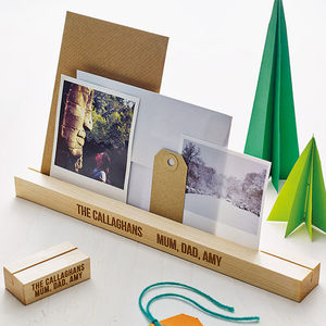 Personalised Photo Block - picture frames