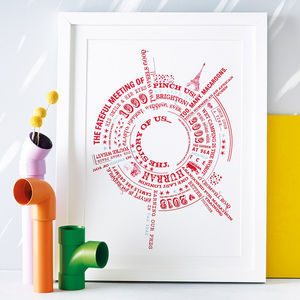 Personalised 'Story Of Us' Print - last-minute christmas gifts for her
