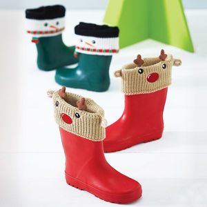 Cosy Welly Cuffs - for under 5's
