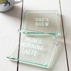 Personalised Drinks Coaster - placemats & coasters