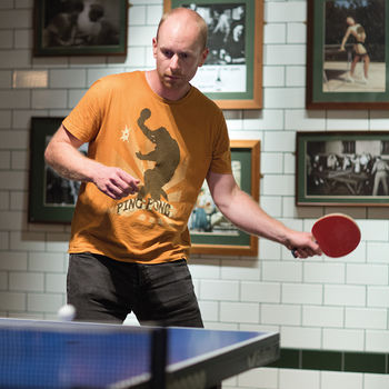 Table Tennis Masterclass For One