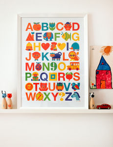 ABC Poster - children's pictures & paintings