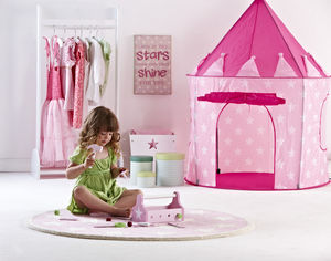 Girl's Star Play Tent - tents, dens & wigwams