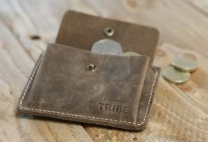 ''The Mule'' Slim Leather Wallet - wallets