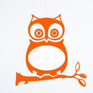 Wise Owl Plexiglas Mobile