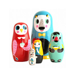 Wooden Nesting Dolls - children's decorative accessories