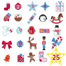 Personalised Advent Calendar Tree Wall Stickers