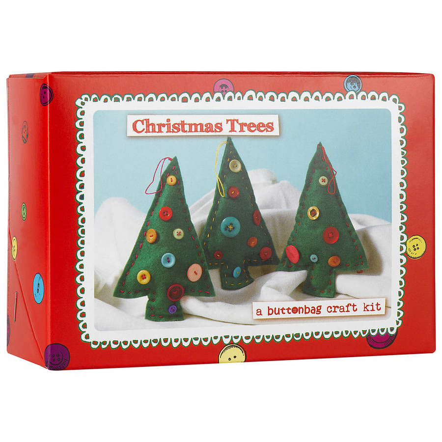 Make your own christmas trees kit by harmony at home children s eco