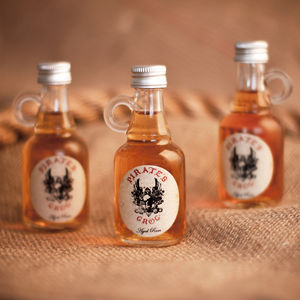 Three Pirate's Grog Rum Miniatures - spirits & cocktails