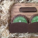 Pack Of Four Beer Soaps