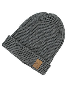 Masso Grey Knit Hat - hats, scarves & gloves