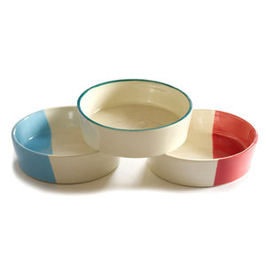 Ceramic Dog Bowl - dogs