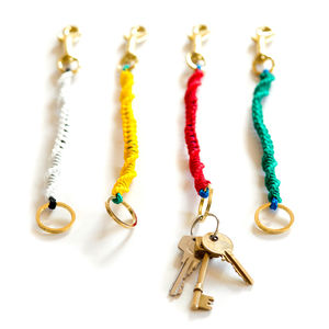 Twisted Keychain - dogs