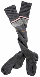 Knitted Knee Length Socks - women's fashion