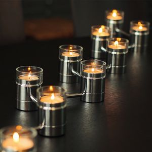 Tea Light Chain From David Louis Design - christmas lighting