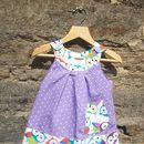 Reversible Owl Hoot Pinafore Dress