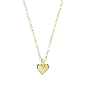 Heart Of Gold Necklace In Gold