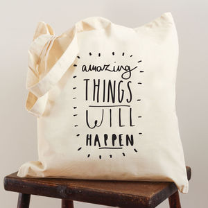 Amazing Things Tote Bag - bags & purses
