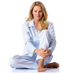 Classic Striped Pyjamas In Long & Regular Leg