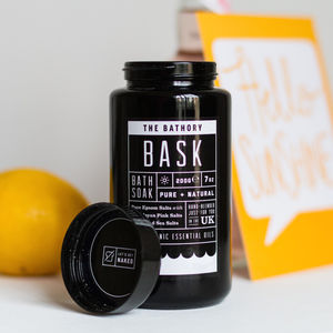 Customised Bath Soak - gifts for her