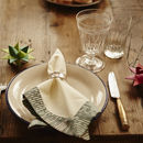 Set Of Two Cotton Table Napkins