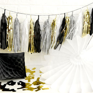 Gatsby Inspired Tassel Garland - room decorations