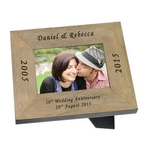 A Wedding Anniversary Celebration Photo Frame - picture frames
